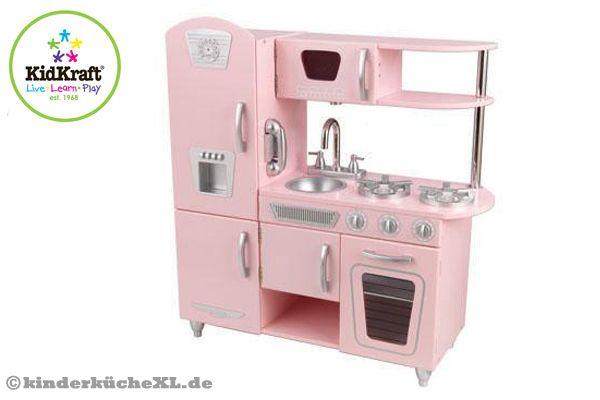Kidkraft rosa vintage küche kinderküchexl